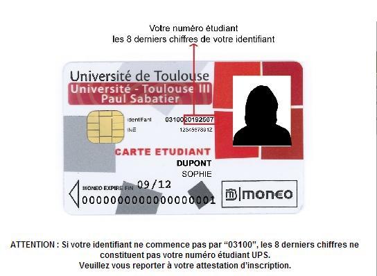 numero ine carte etudiante Etudiants : comment trouver son numéro étudiant ? | Bibliothèques